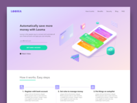 Looma app landing page