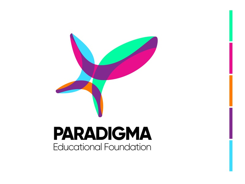 Logo for Paradigma Educational Foundation foundation education logo educational education logos logodesign logotype logo
