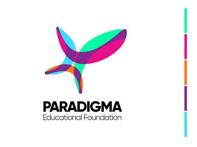 Logo for Paradigma Educational Foundation foundation education logo educational education logos logodesign logotype logo