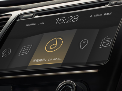 Dashboard for Haval- Origami
