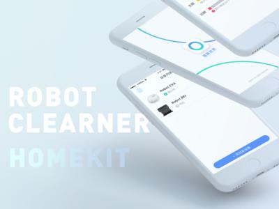 Robot Cleaner Homekit