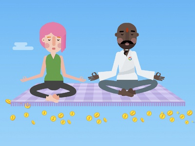 Google AdWords google animation motiongraphics illustration character design