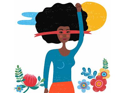 Promotaras Legais Populares woman naif feminism feminist animation motiongraphics illustration character design