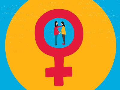 Unity woman naif feminism feminist animation motiongraphics illustration character design