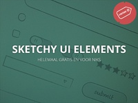 Sketchy UI Elements Freebie