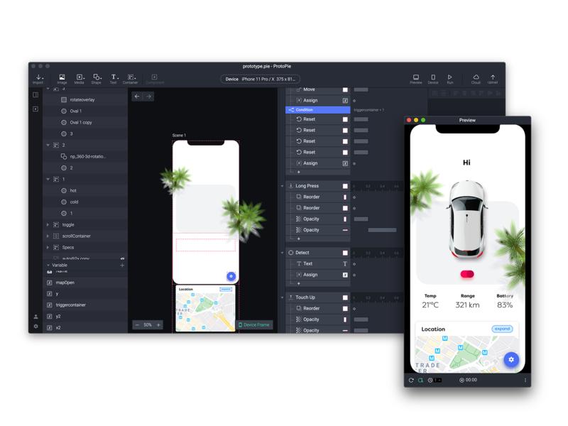 protopie prototype protopie app