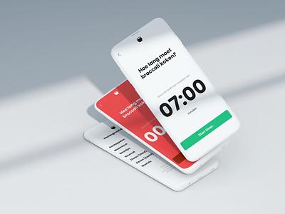 Hoelangmoetditkoken.nl dutch webapp ui sideproject