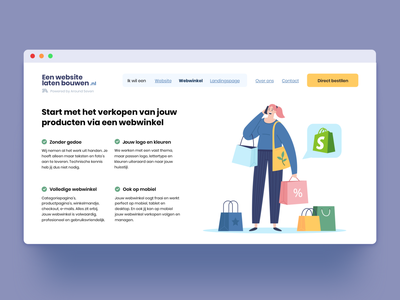 Eenwebsitelatenbouwen.nl dutch website design longurls