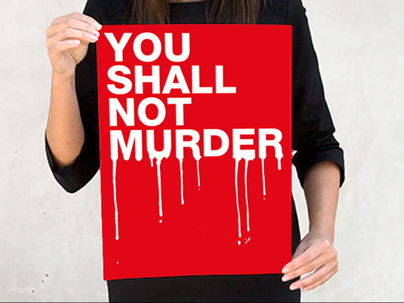 Image result for You Shall Not Murder