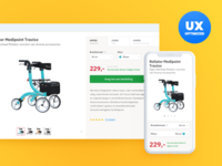 Webshop UX optimalizations