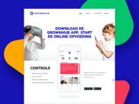 Grownhub Website