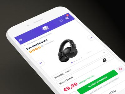 Shop design webshop ecommerce