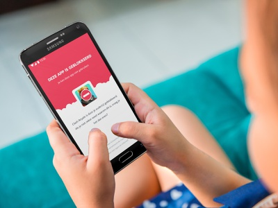 Sorry kid, this app is blocked by your parents! dutch android kids parenting app
