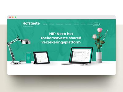 Hofstaete website update dutch website