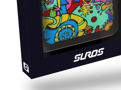 Suros Mockup packaging mockup logo