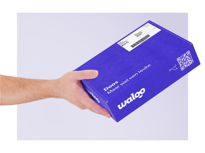 Blije doos dat je bent package design box design