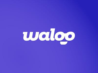 Waloo logo branding logo