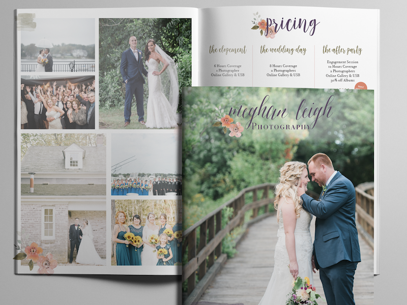 Meghan Leigh Photography Pricing Guide by Anna Beyerle on