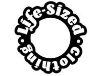 Life-Sized Clothing - circular logo
