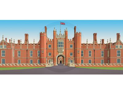 Hampton Court West Front