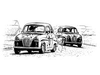 Austin A30 Race