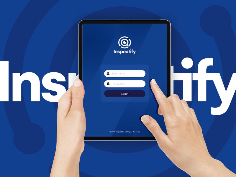 Inspectify icon branding ui logo app ui