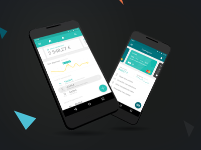 Banking concept design pay ux payments android branding account card banking bank interface design ui