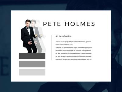 Pete Holmes Page
