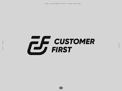 CUSTOMER FIRST logo design logos branding logotype brand identity logo design brand design yalçın gözüküçük logo designer logodesign logo customer first