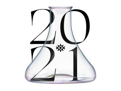2021 Pandemic and vaccines typographic design brand design logodesign logo designer type typography covid19 vaccine vaccines 2021 corona pandemic