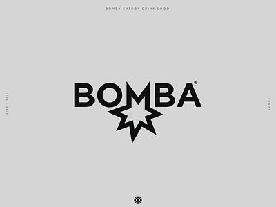 """BOMBA energy drink """"Imaginary Project"""" animation studio logo explosion bomb bomba logos branding brand identity logo design brand design yalçın gözüküçük logodesign logo designer"""