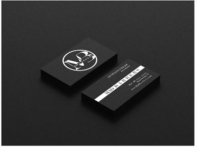 Mad Barbers Business Card Mockup fun logo design businesscard affinity branding