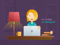 Hi, Designer Illustrations