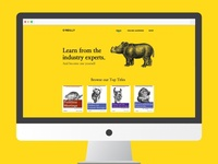 Daily UI :: 003 Landing Page