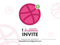 Dribbble Invitation*
