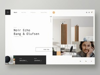 Landing Page for Bang&Olufsen