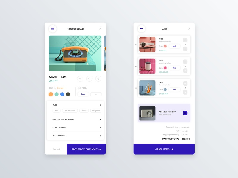 Mobile product card and checkout 📲 product checkout mobile app design design user center design interface uidesign adobe xd krsdesign digital krs ux ui