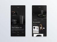 Luxury goods responsive layout