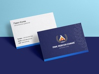 🔵 Levski Sofia - business cards
