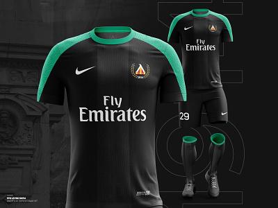 ️⚽️ Levski Sofia 2019/20 away kit t-shirt design sport club t-shirt sport branding nike levski kit illustration gradient football branding krsdesign krs