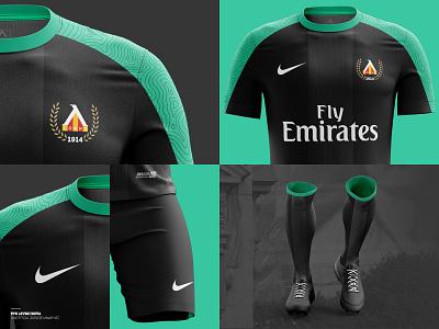 ⚽️ Levski Sofia 2019/20 away kit 2 krs krsdesign branding football gradient illustration kit levski nike sport branding t-shirt sport club t-shirt design