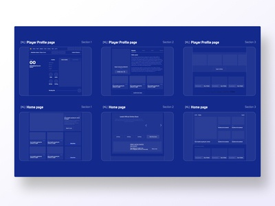 Grids and layouts levski sofia wireframing wireframe layout design layout exploration layout gird user center design interface uidesign adobe xd invision digital krsdesign krs ux ui