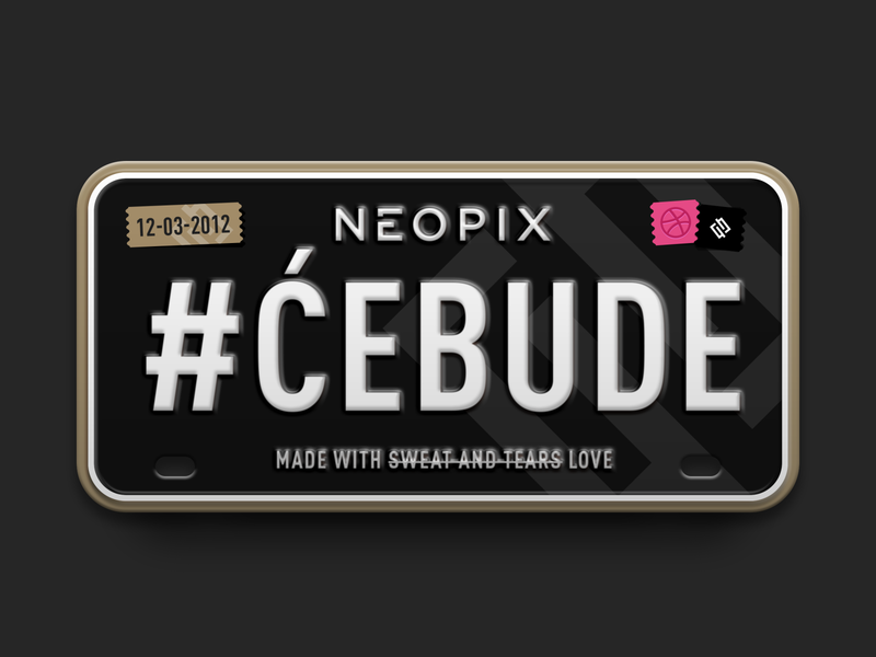 Neopix / Licence Plate