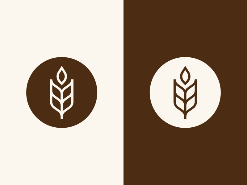 Dianus | Logo icon confectionery brand identity bakery wheat visual identity illustration art vector brand branding logo mark photoshop design logo design