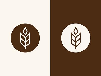 Dianus | Logo icon confectionery brand identity bakery wheat visual identity illustration art vector brand branding logo mark photoshop design logo design