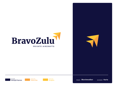 Bravo Zulu | Logo lockup combination mark seal visual identity typography art vector illustration photoshop branding brand design logo mark mark logo design