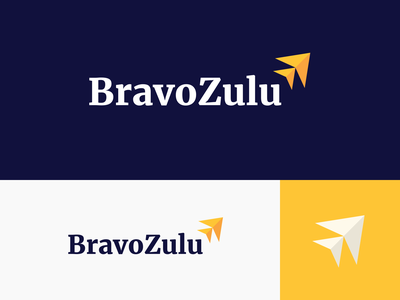 Bravo Zulu | Lockup lockup combination mark seal visual identity typography art vector illustration photoshop branding brand design logo mark mark logo design