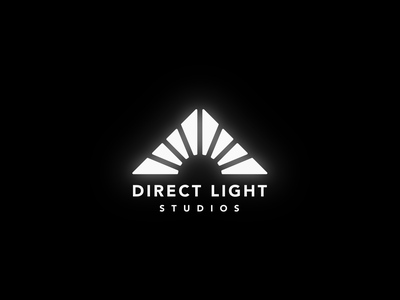 Direct Light Studio | Logo v2 lockup combination mark seal visual identity typography art vector illustration photoshop branding brand design logo mark mark logo design