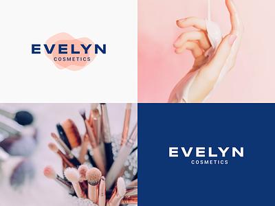 Evelyn Cosmetics | Imagery photography illustrator brand ux ui logo illustration vector branding mark photoshop design logo design