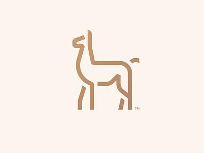 Chulengo | Logo Mark minimal flat llama alpaca photoshop ui ux illustration vector branding brand mark lockup combination mark logo mark logo design logo design